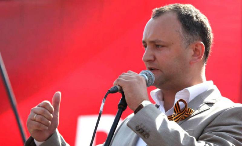 Додон заблокировал инициативу о праздновании 9 мая Дня Европы в Молдавии