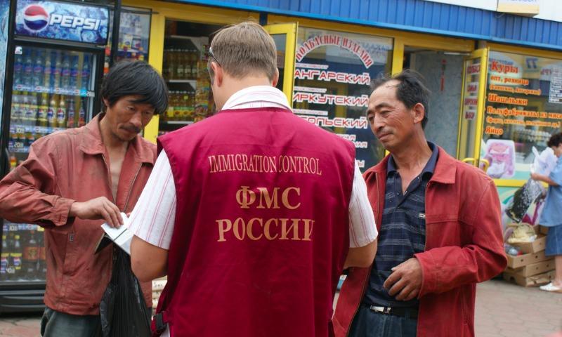 В РФ  встали намиграционный учёт семь млн  иностранцев заполгода