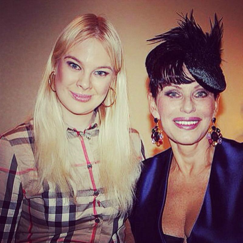 Понаровская со своим концертным директором Лерой Тувиной