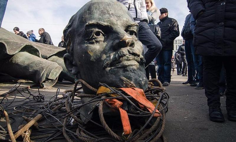 Украина окончательно и бесповоротно победила Ленина