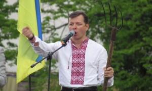 Ляшко призвал пограничников стрелять в Саакашвили, если он прибудет на Украину