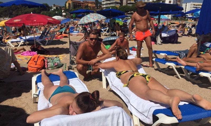 В Сети появились фотографии Ляшко на отдыхе в Испании