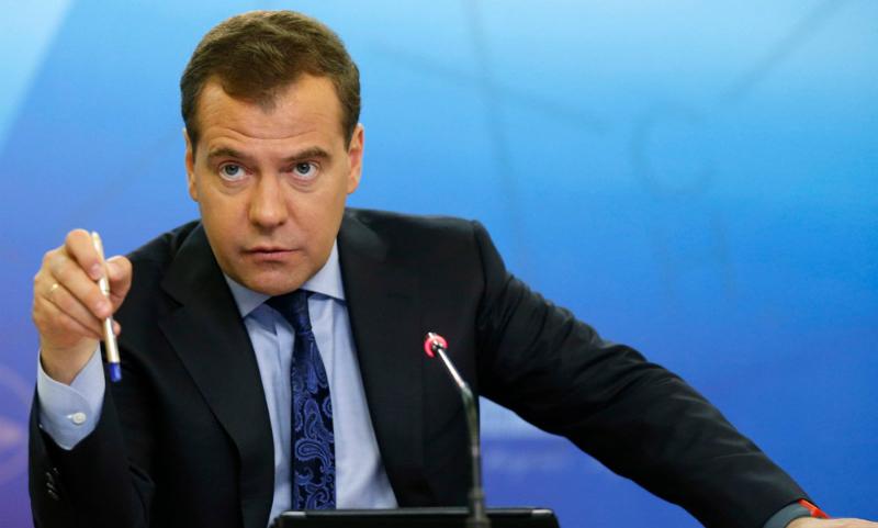 Украина назвала приезд Медведева в Крым нарушением её суверенитета