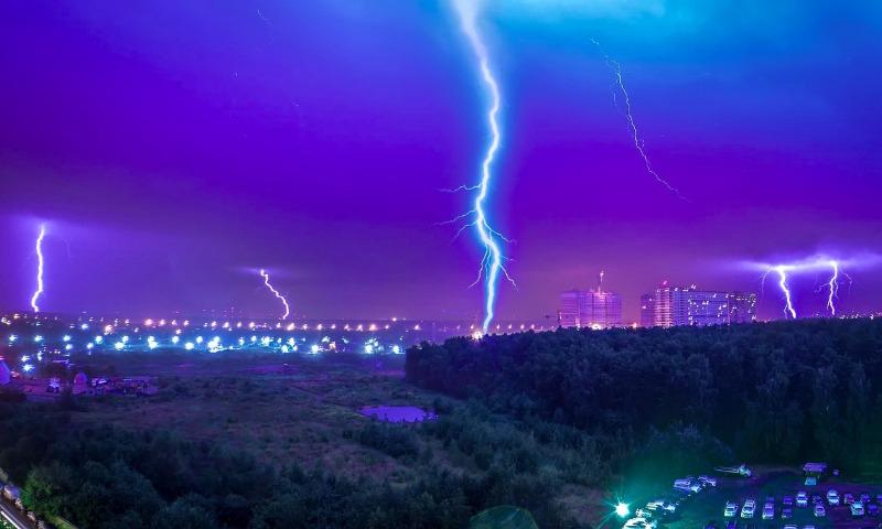 В России за четверть века резко возросло число опасных погодных явлений