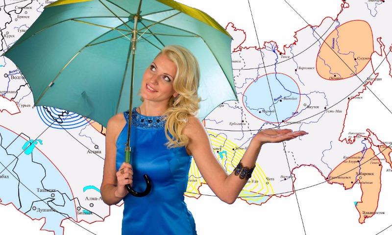 Прогнозам погоды доверяют чуть больше половины россиян