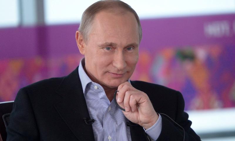 Путину предложили стать главным тренером сборной России по футболу