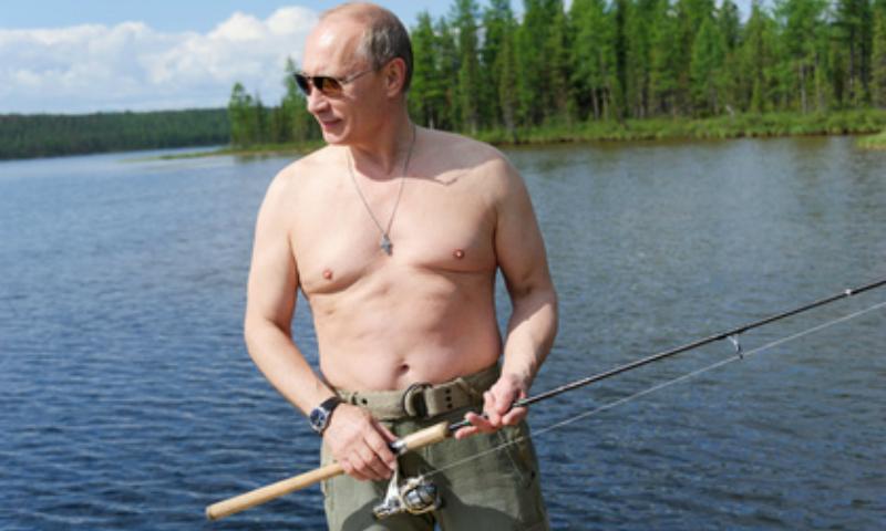 Владимир Путин решил порыбачить в Сибири перед поездкой на Дальний Восток