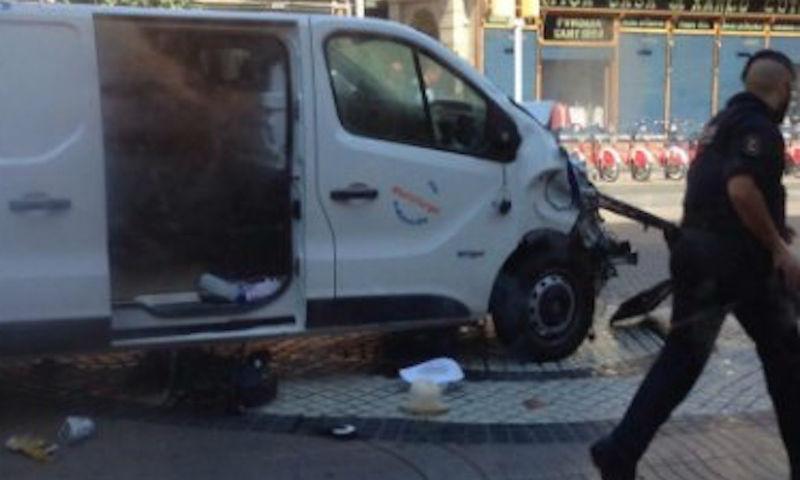 Установлен исполнитель теракта в Барселоне