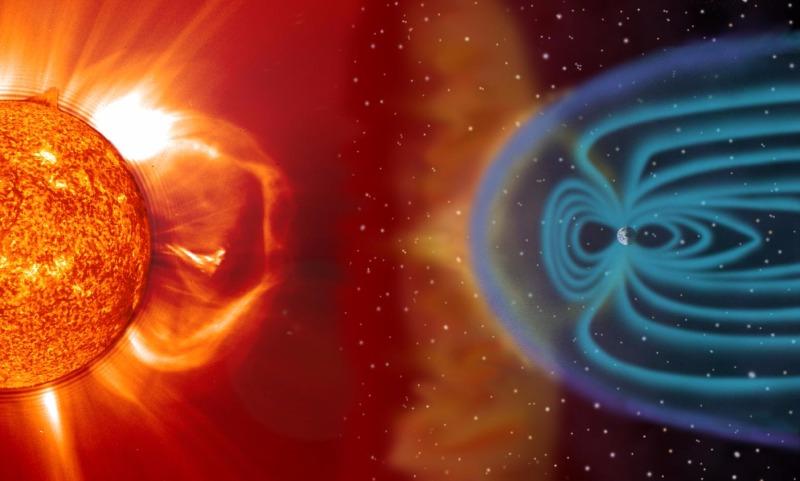 В сторону Земли движется вызвавший магнитную бурю солнечный ветер