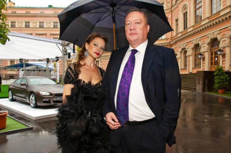 Вадим Тюльпанов с женой