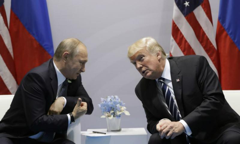 Трамп выразил благодарность Путину за высланных из России американских дипломатов