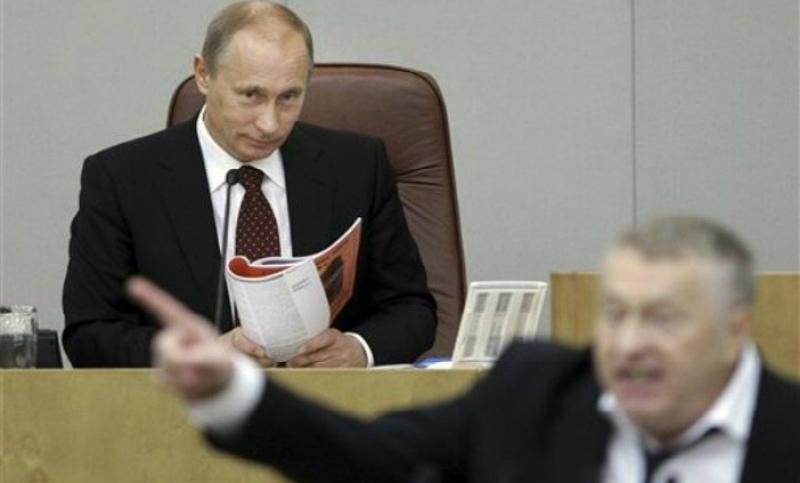 Жириновский назвал три ошибки Путина