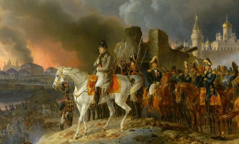 Календарь: 15 сентября - Император Наполеон захватил Московский Кремль