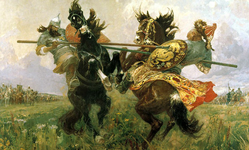 В РФ вспоминают героев Куликовской битвы