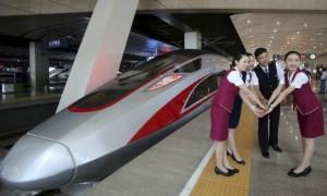 Самый скоростной поезд мира стартовал в Китае