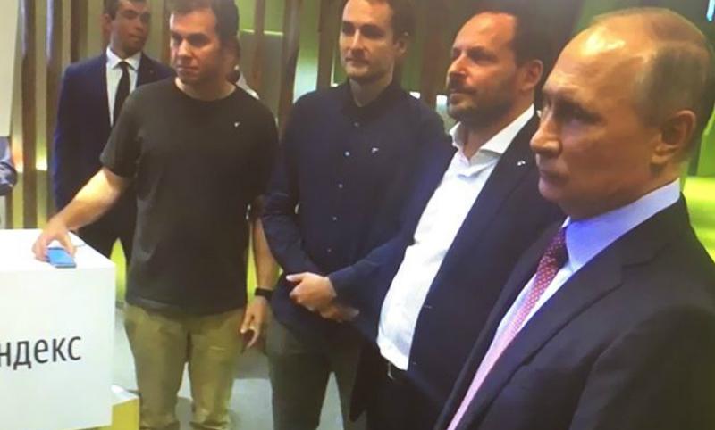 Несколько служащих «Яндекса» непустили наработу вовремя визита Владимира Путина