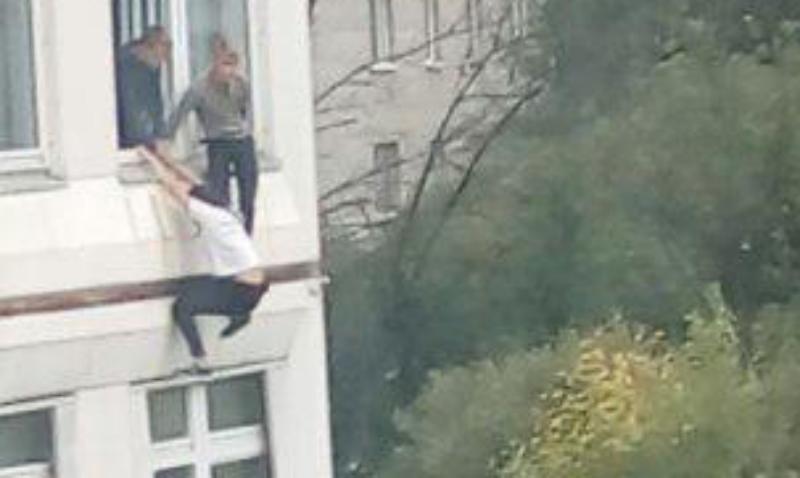 Атаку на школу в Ивантеевке случайно снял оператор ТВ