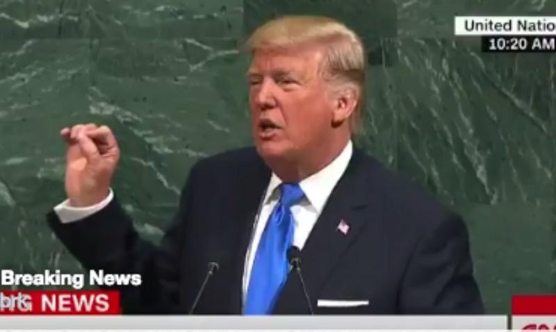 Трамп грозится уничтожить Северную Корею вместе с ее «человеком-ракетой»