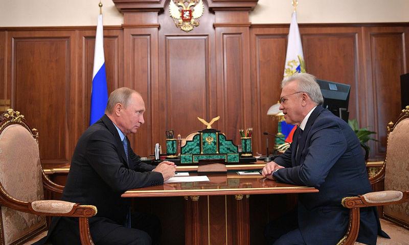 Путин назначил врио губернатора Красноярского края