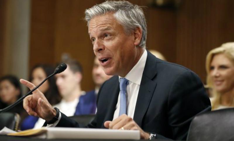 Сенат США утвердил Джона Хантсмана послом вРФ