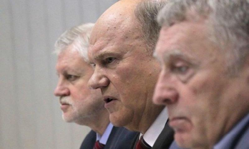 КПРФ, ЛДПР и СР предложили своих кандидатов на посты губернаторов