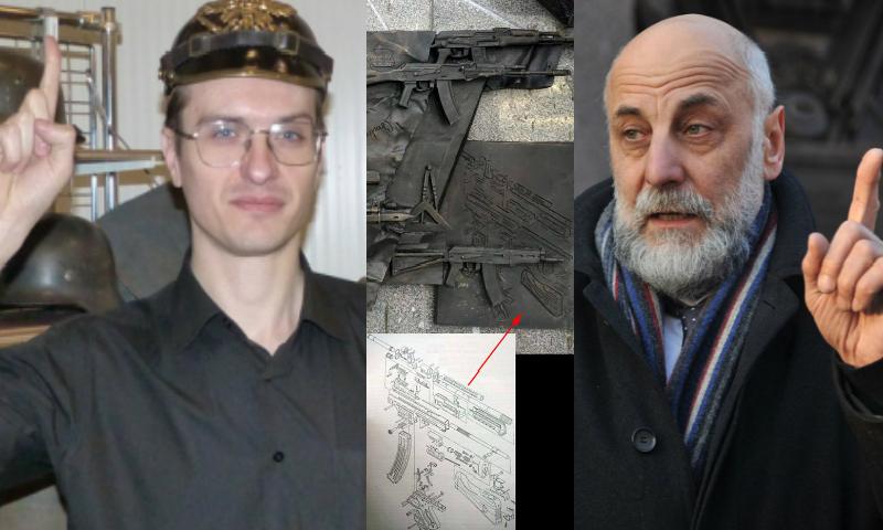 Шмайссер на памятнике Калашникову разглядел военный историк