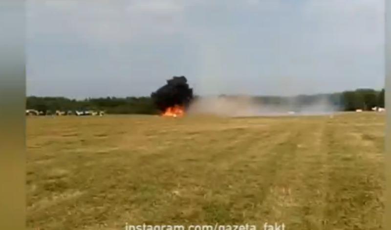 Мертвая петля Ан-2 привела к гибели двух летчиков во время показательного выступления в  Балашихе