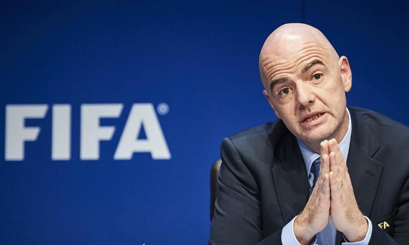 Президент FIFA призвал все страны приехать в Россию на ЧМ по футболу