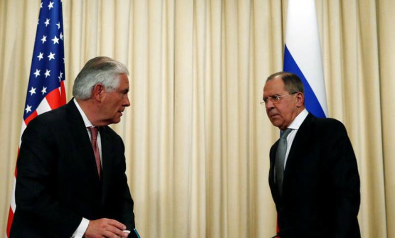 Лавров принял Тиллерсона в постпредстве России при ООН в Нью-Йорке