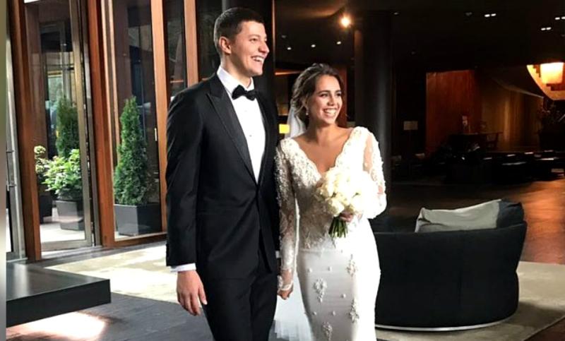 Олимпийская чемпионка Маргарита Мамун вышла замуж в Подмосковье