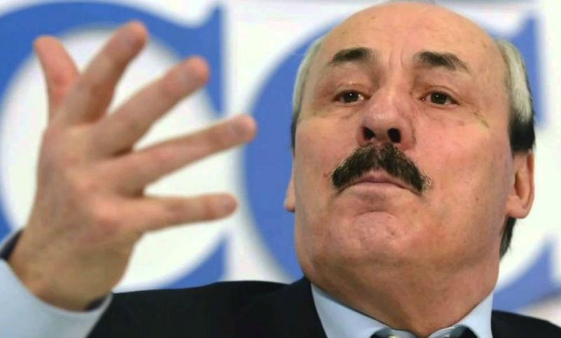 Вторая отставка за день: ушел глава Дагестана Рамазан Абдулатипов