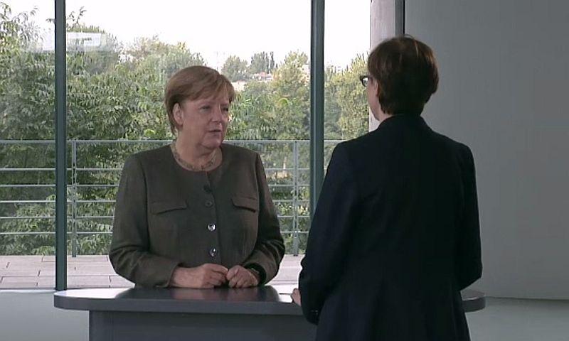 Меркель: стандартный разговор сРоссией будет только после выполнения ею«Минска»