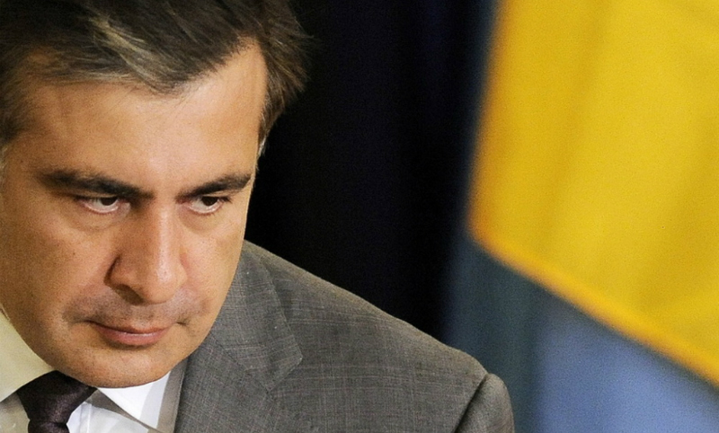 Михо приближается: на украинско-польской границе подрались сторонники и противники Саакашвили
