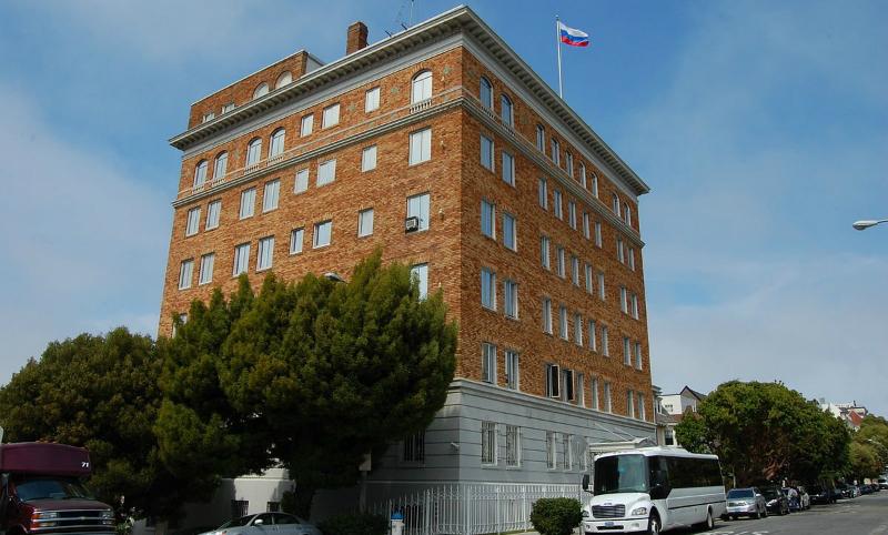 Госдепартамент США назвал законными обыски в дипучреждениях России