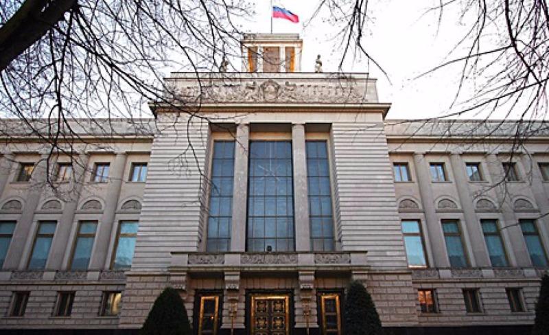 Посольство Российской Федерации  потребовало извинений заоскорбление В. Путина  в германском  журнале