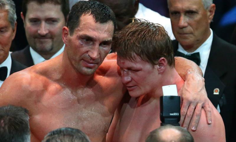 Владимир Кличко заявил о таланте и хороших перспективах Поветкина