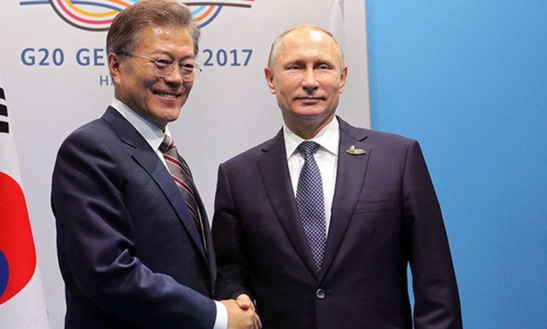Президент Южной Кореи лично пригласил Путина на открытие Олимпиады в Пхенчхане