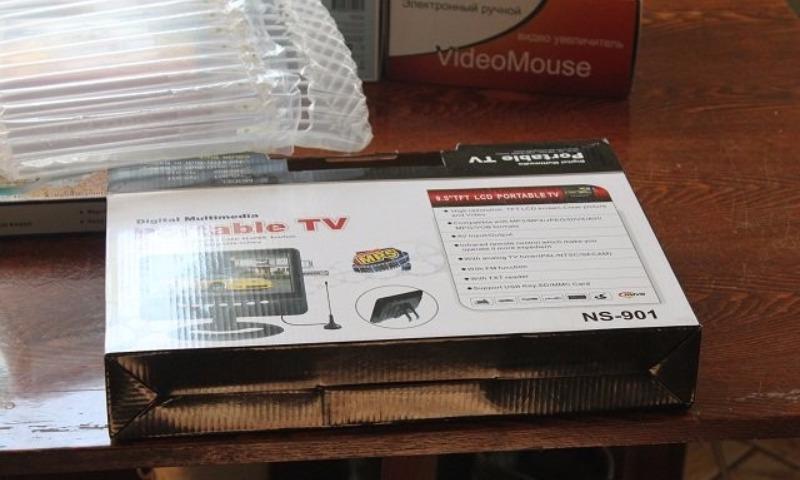 На Сахалине слепому мужчине социальщики подарили телевизор