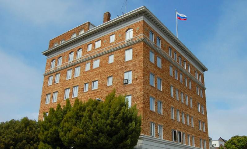 МИД: Сотрудников Генконсульства РФ в Сан-Франциско выставили из квартир в связи с обыском