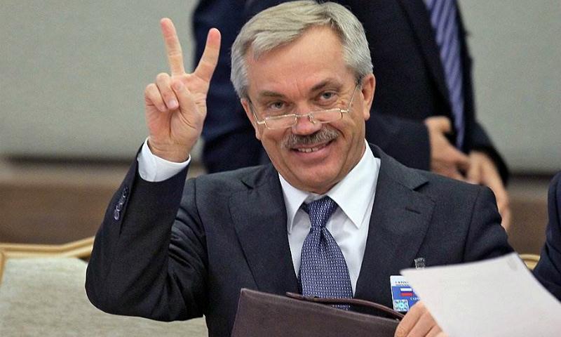 """Губернатор-""""долгожитель"""" Савченко по результатам выборов остается главой Белгородской области"""