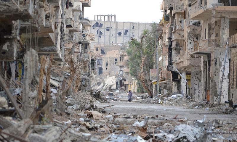 В атаках на базы России в Сирии нашли