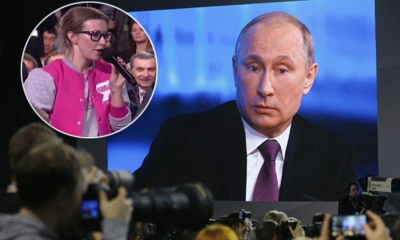 Путин: Собчак тоже имеет право бороться за пост президента