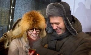 Ксения Собчак обвинила своего приятеля Навального в лицемерии и вождизме