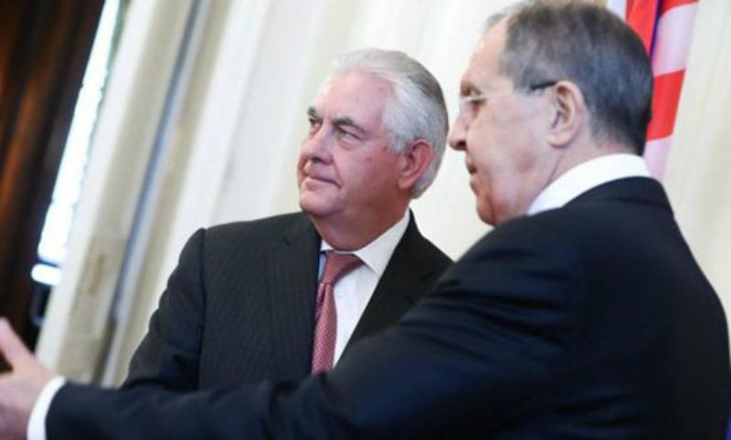 Лавров напомнил Тиллерсону, что американских военных в Сирию не звали