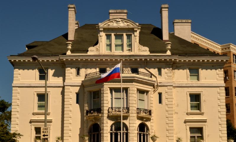 Здание торгового представительства РФ в Вашингтоне перешло под контроль США