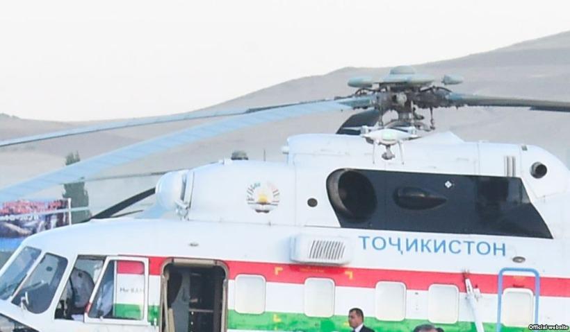 Вертолет президента убил начальника аэропорта в Таджикистане