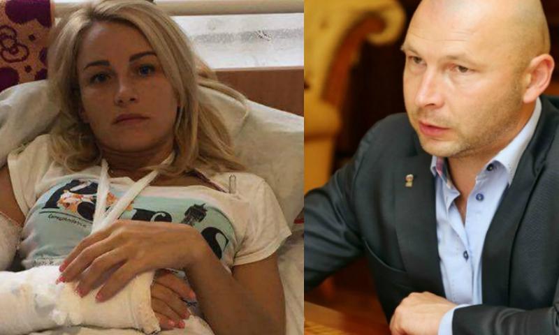 Расследование избиения депутата-девушки судимым за наркотики главой района Крыма стоит на месте