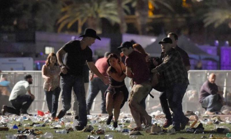 Опубликовано видео расстрела фестиваля кантри-музыки в Лас-Вегасе