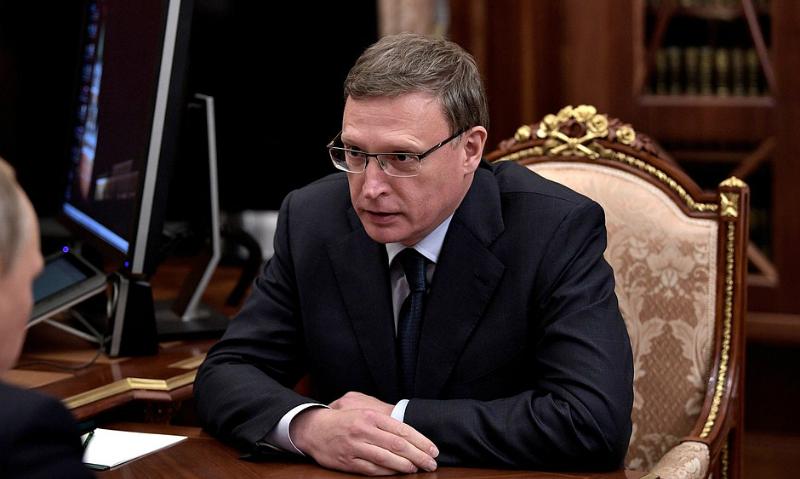 Справоросс Александр Бурков стал врио губернатора Омской области