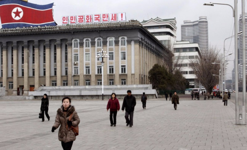 Северная Корея в новом атласе мира «покрасила» Крым в российские цвета